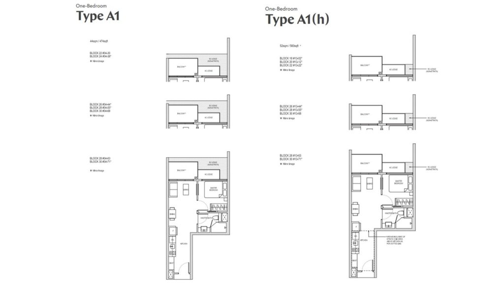 AFFINITY AT SERANGOON 1BR 5